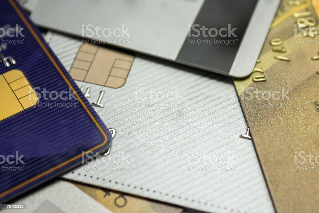 Tarjeta de crédito y de débito foto de stock libre de derechos