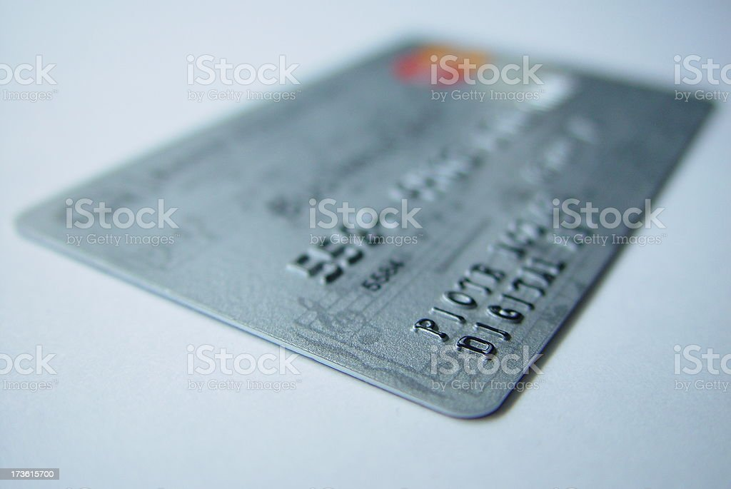 credit card 1 royalty-free stock photo