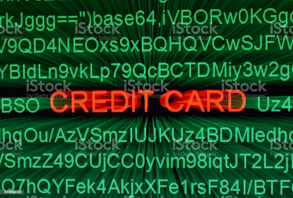 Credit card concept royalty-free stock photo