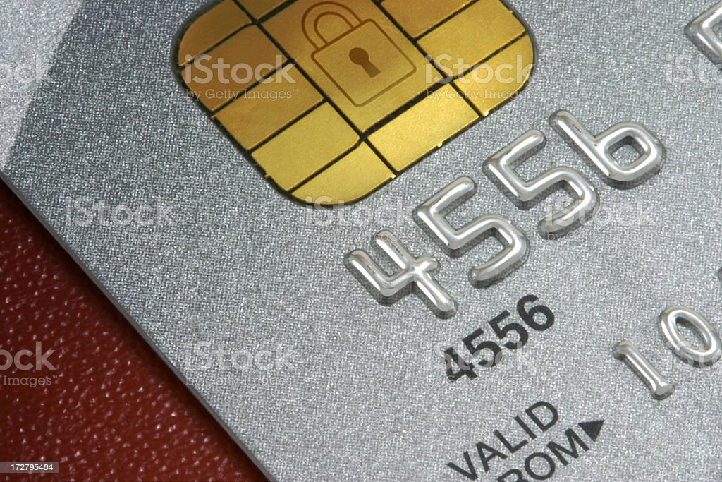 Credit Card Data stock photo