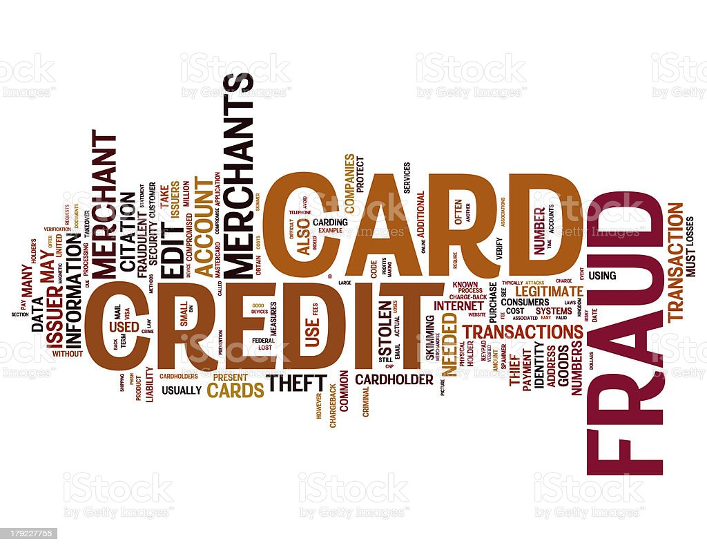 Credit card fraud collage concepts royalty-free stock photo