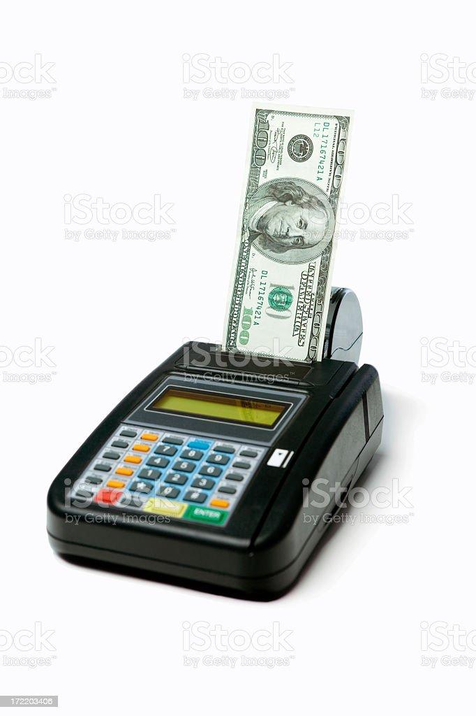 Credit Card Money royalty-free stock photo