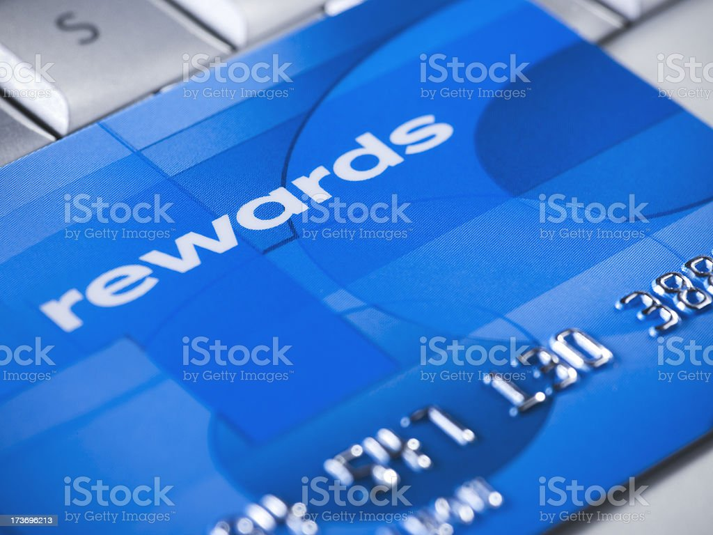 Credit card online purchase royalty-free stock photo