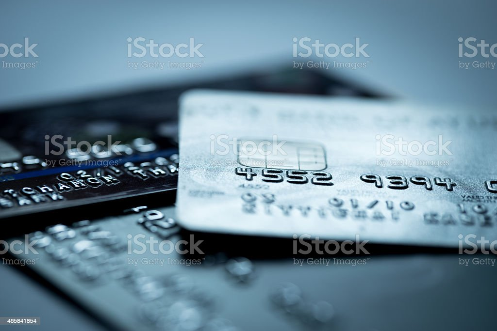 Credit card online shopping payment stock photo