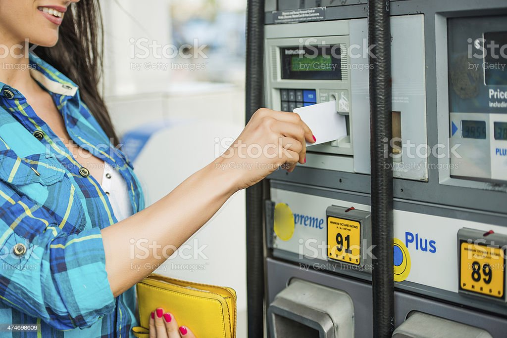 Credit card payment stock photo