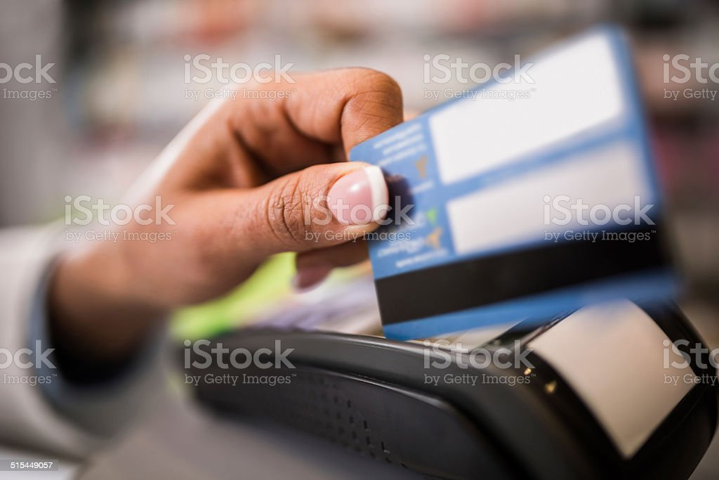 Credit card payment. stock photo