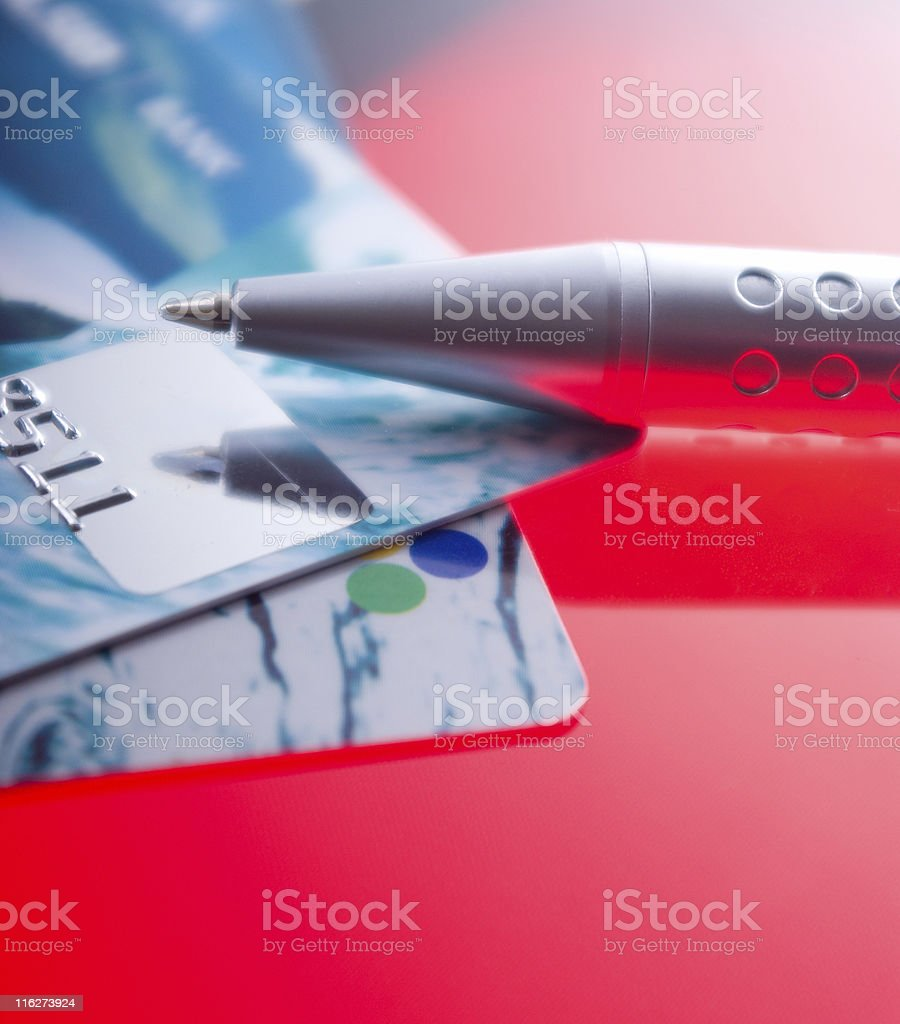 Credit card . royalty-free stock photo