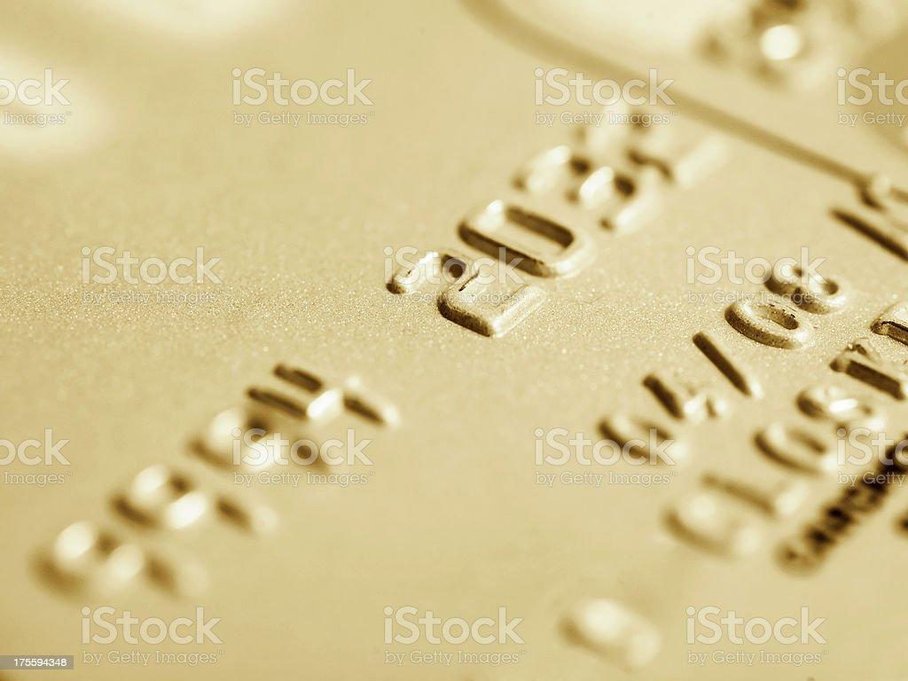 Credit Card stock photo