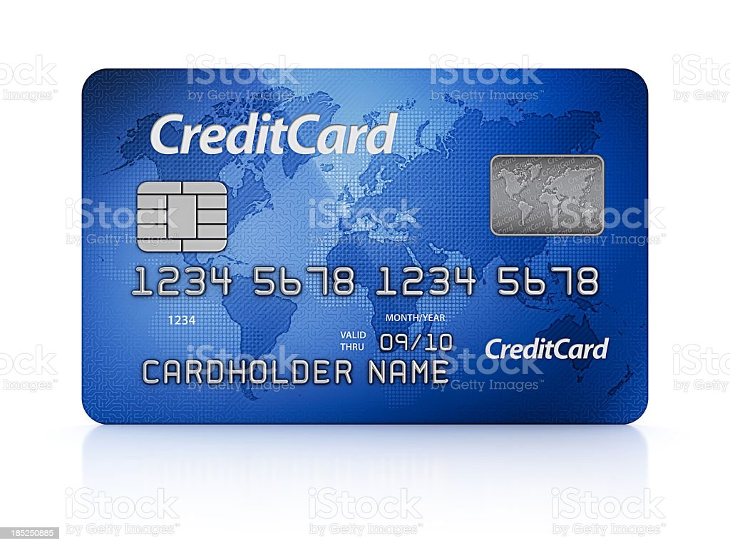 credit card stock photo
