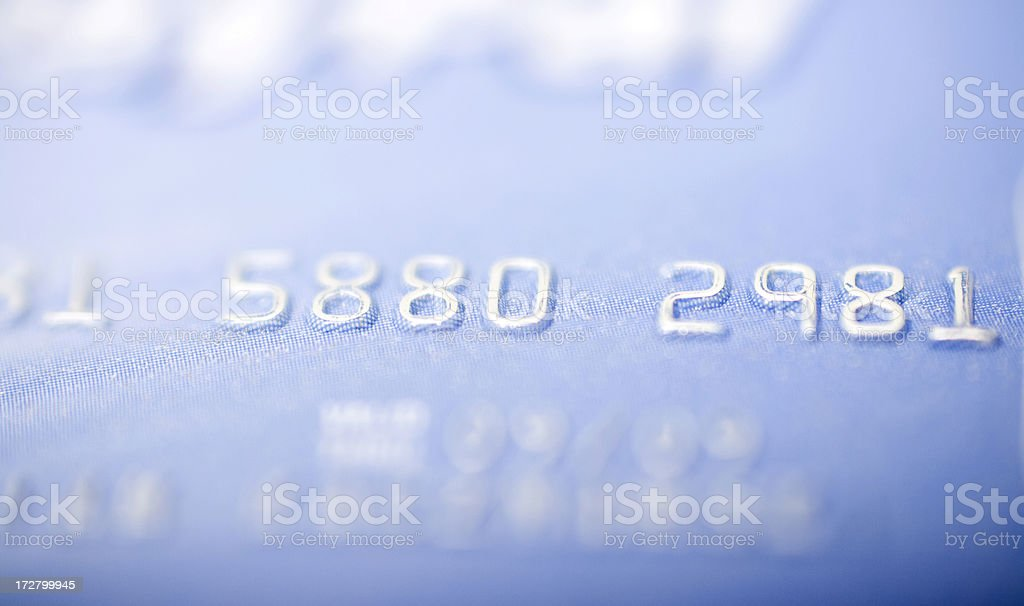 Credit card, shallow DOF stock photo
