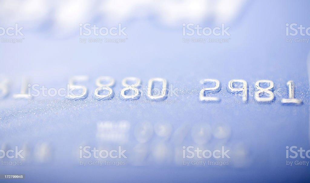 Credit card, shallow DOF stock photo