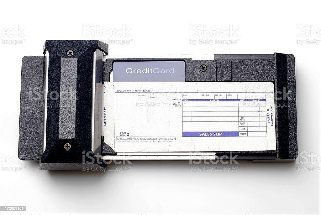 Credit Card Swipe Device stock photo