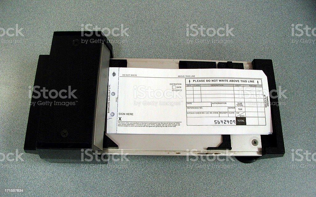 Credit Card Swiper stock photo