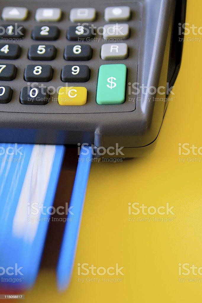 Credit Card Terminal (01) royalty-free stock photo