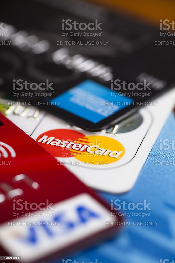 Credit Cards royalty-free stock photo