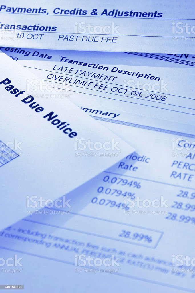 Credit Crunch II royalty-free stock photo