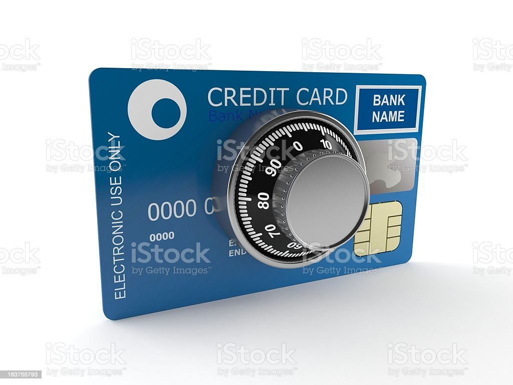 Creditcard access royalty-free stock photo