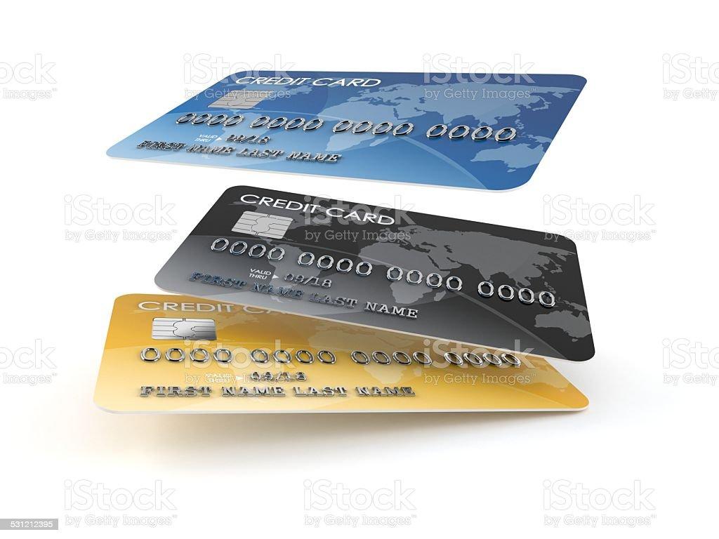Creditcards Lizenzfreies stock-foto