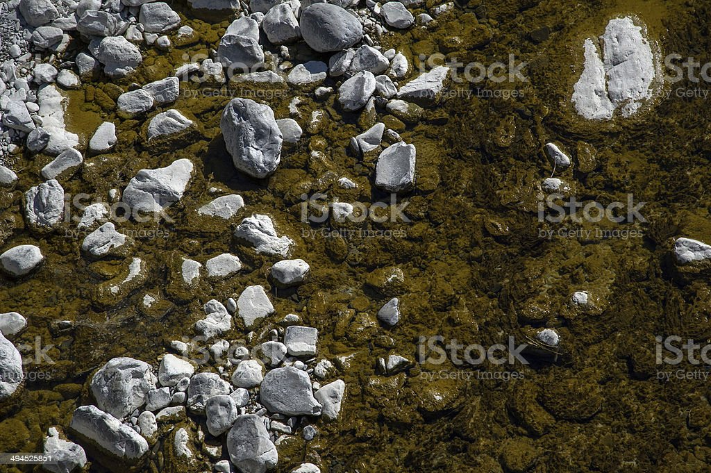 creek bed royalty-free stock photo