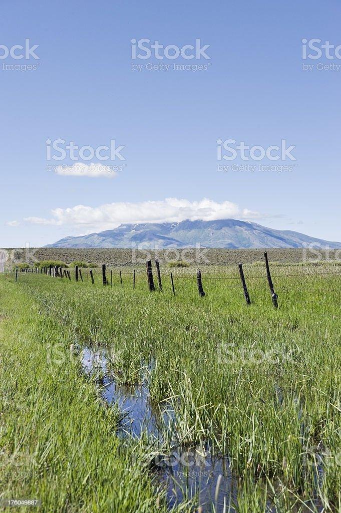 Creek Nevada Countryside stock photo