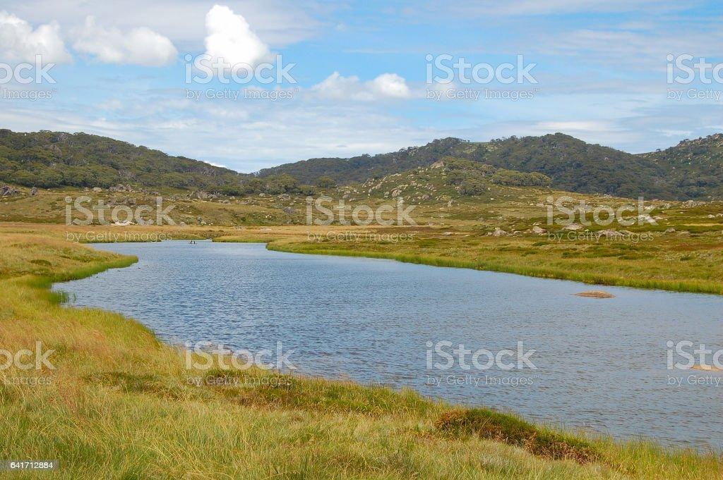 Creek - Thredbo stock photo