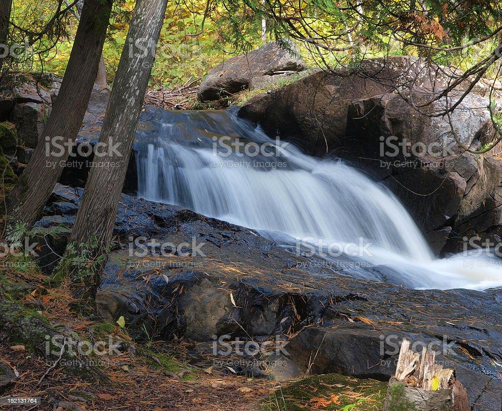 Creek Water Fall stock photo