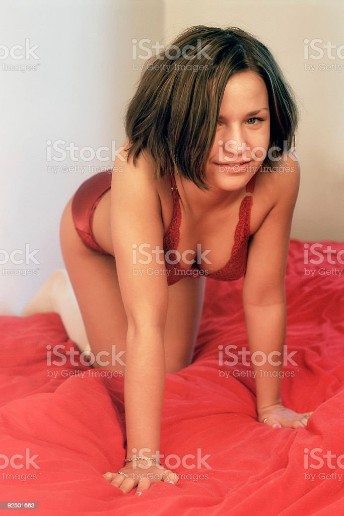 Creeping up royalty-free stock photo