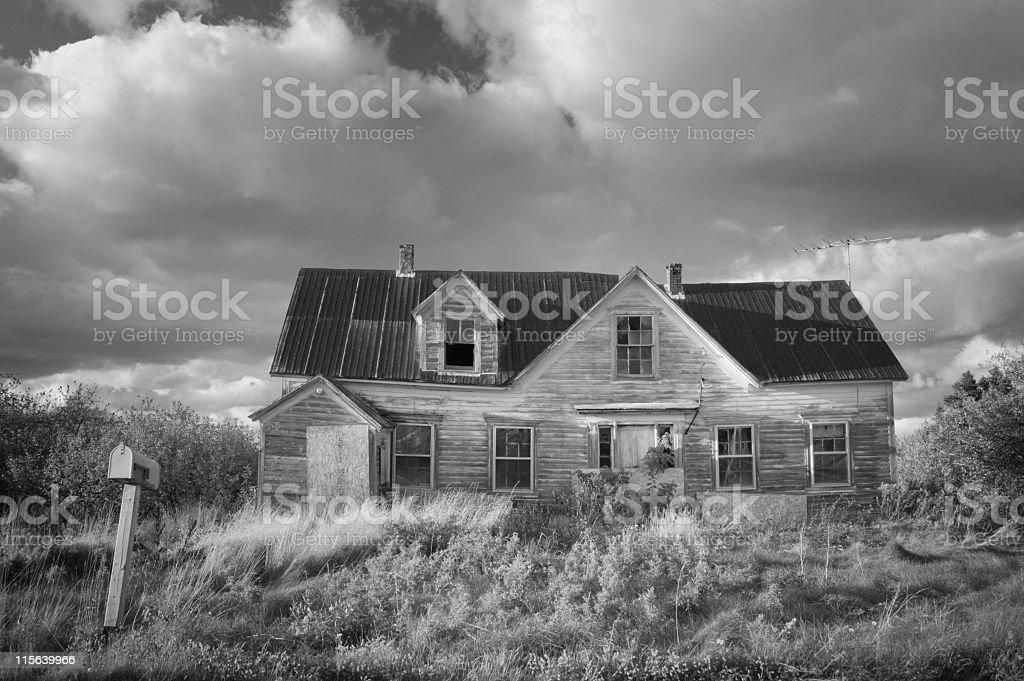 Creepy Abandoned House royalty-free stock photo