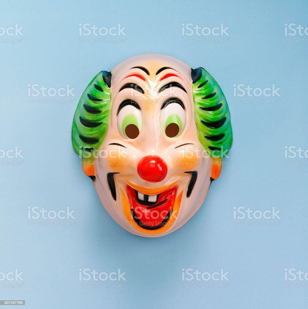 Creepy Clown Mask stock photo