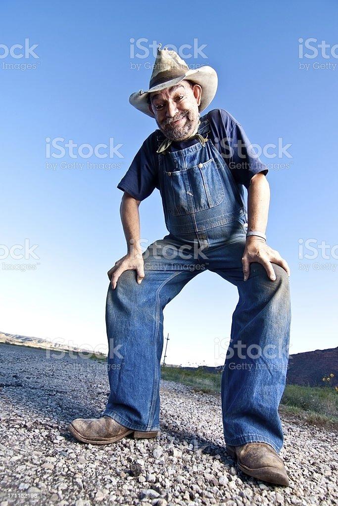 Creepy drunk Guy stock photo