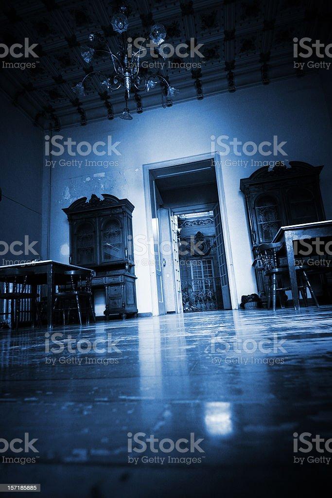 Creepy room royalty-free stock photo