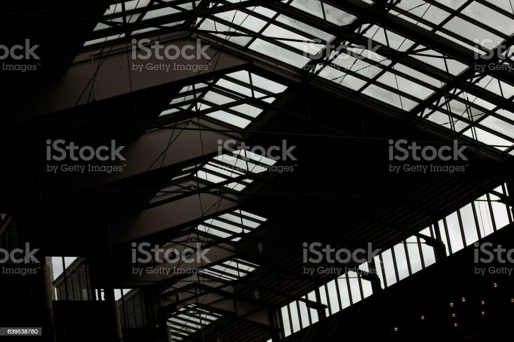 Creepy Steel Structure stock photo