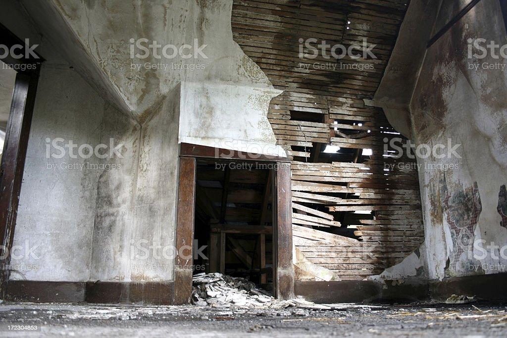 \'Peeling wallpaper and wet, mouldy sheetrock. I\'ve more\'