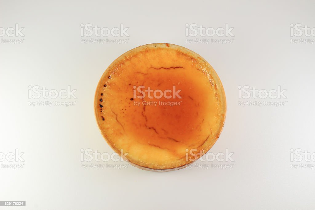 crema catalana, catalan cream, spanish dessert stock photo