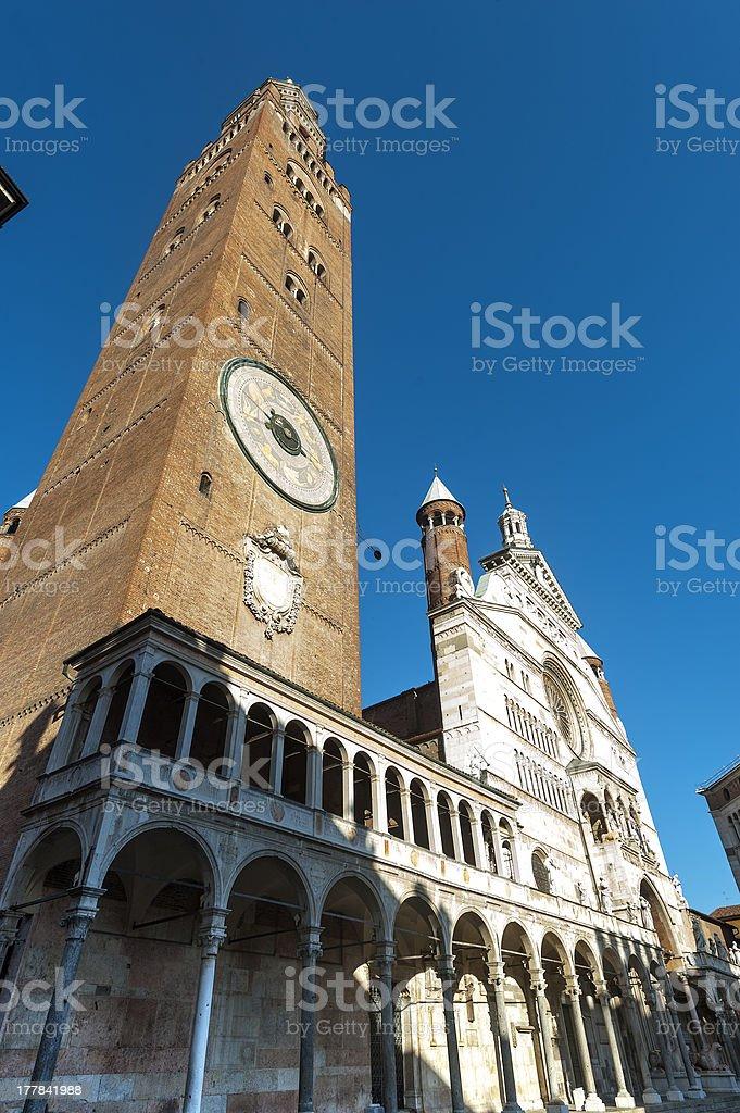 Cremona, Duomo royalty-free stock photo