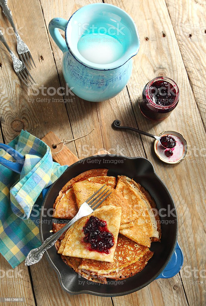 Crepes royalty-free stock photo