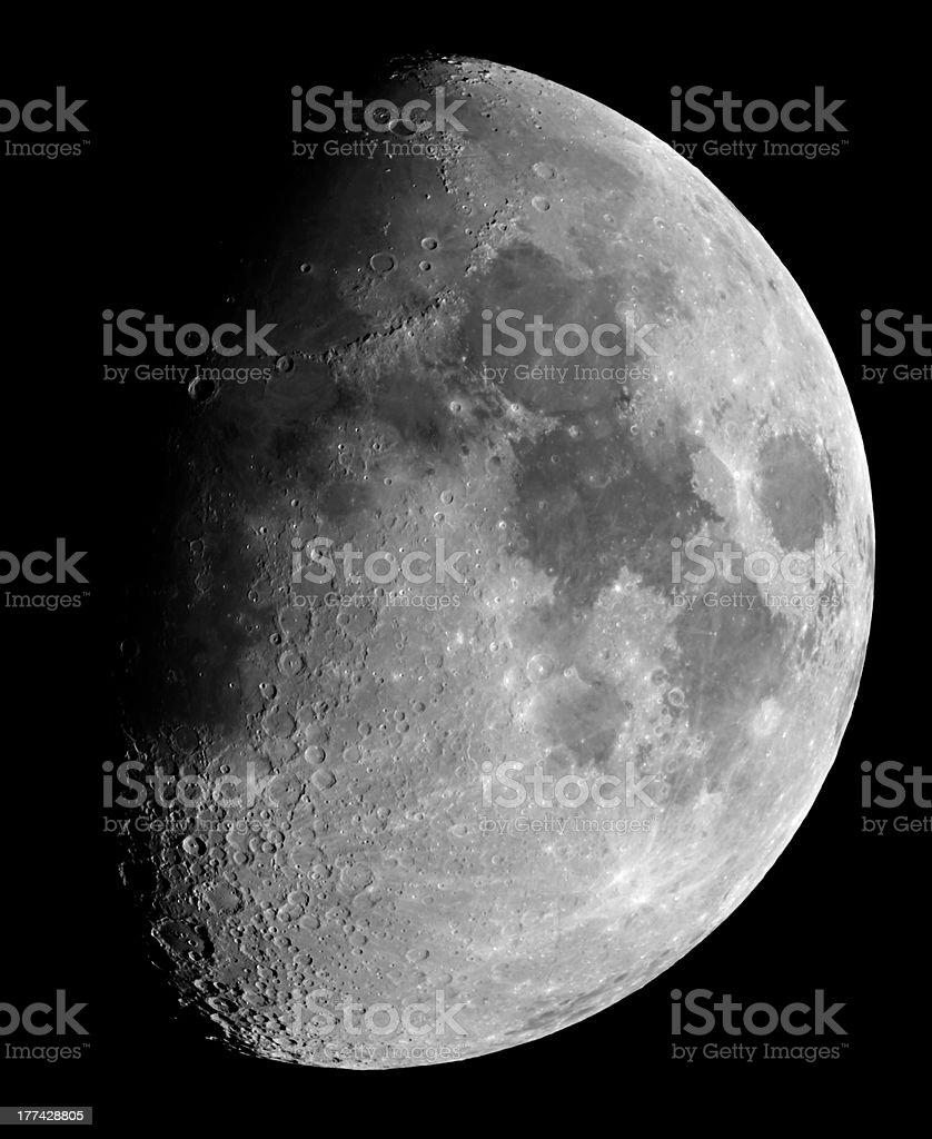 Crescent Moon royalty-free stock photo