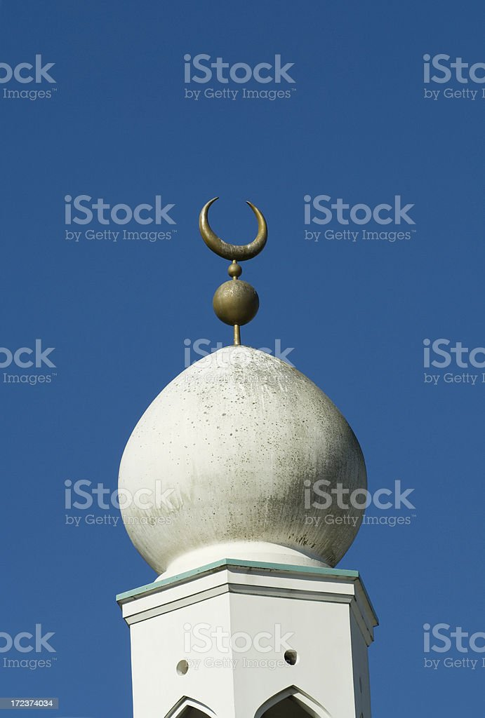 Crescent Moon Symbol Of Islam On Mosque Stock Photo 172374034 Istock