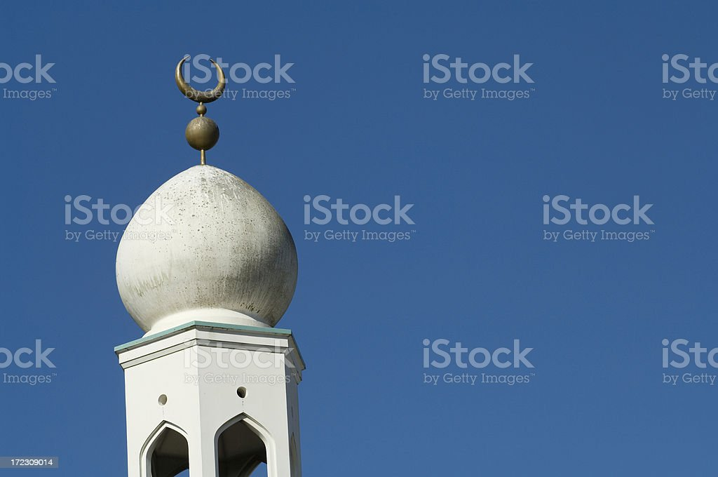 Crescent Moon - Symbol of Islam royalty-free stock photo