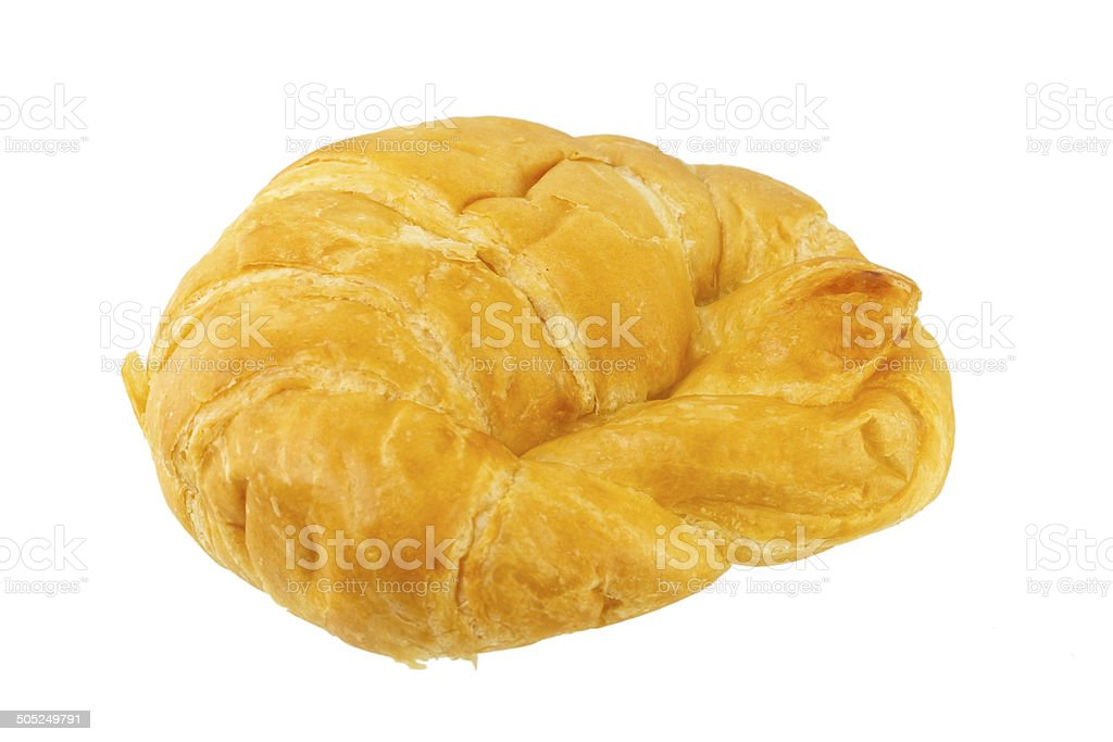 Crescent roll royalty-free stock photo