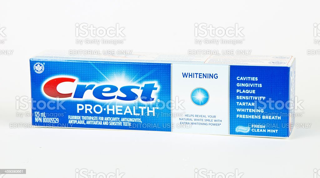 Crest Toothpaste royalty-free stock photo