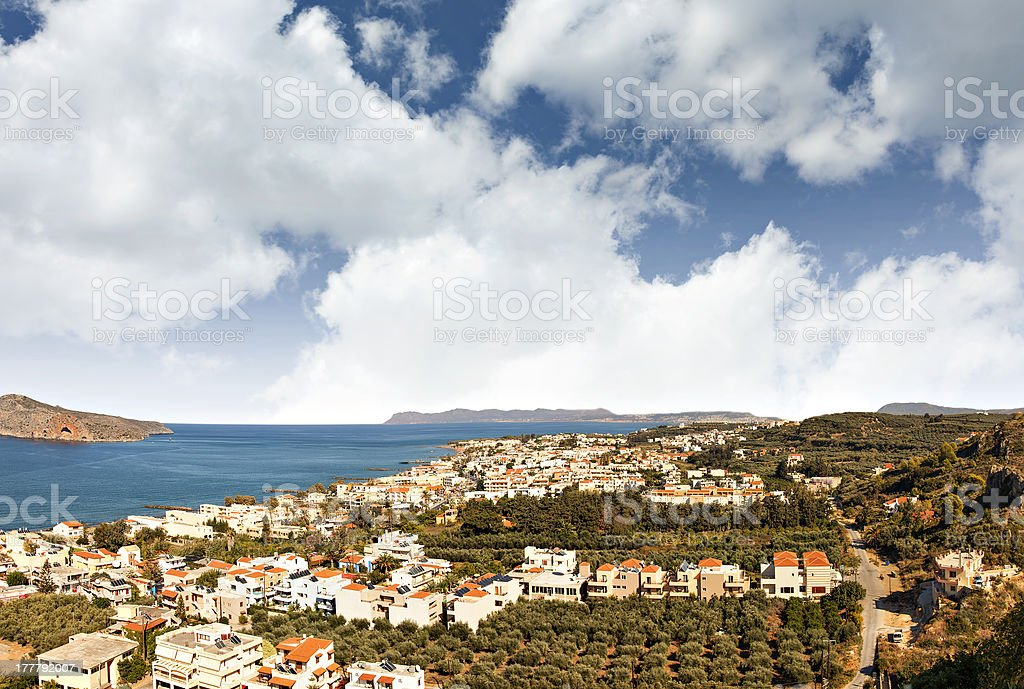 Cretan landscape royalty-free stock photo