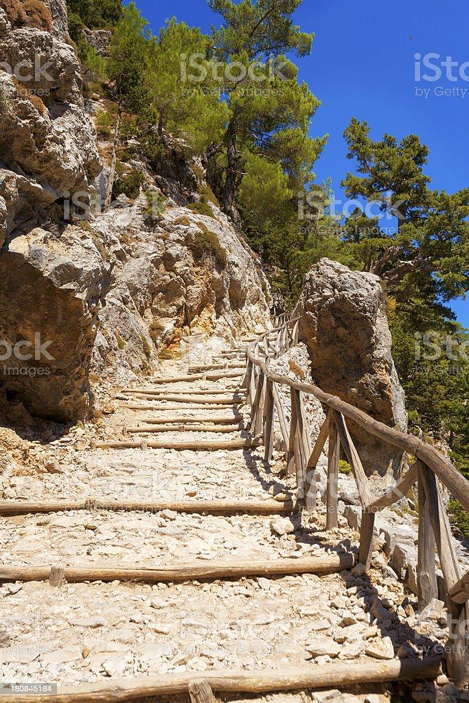 Crete - Samaria royalty-free stock photo