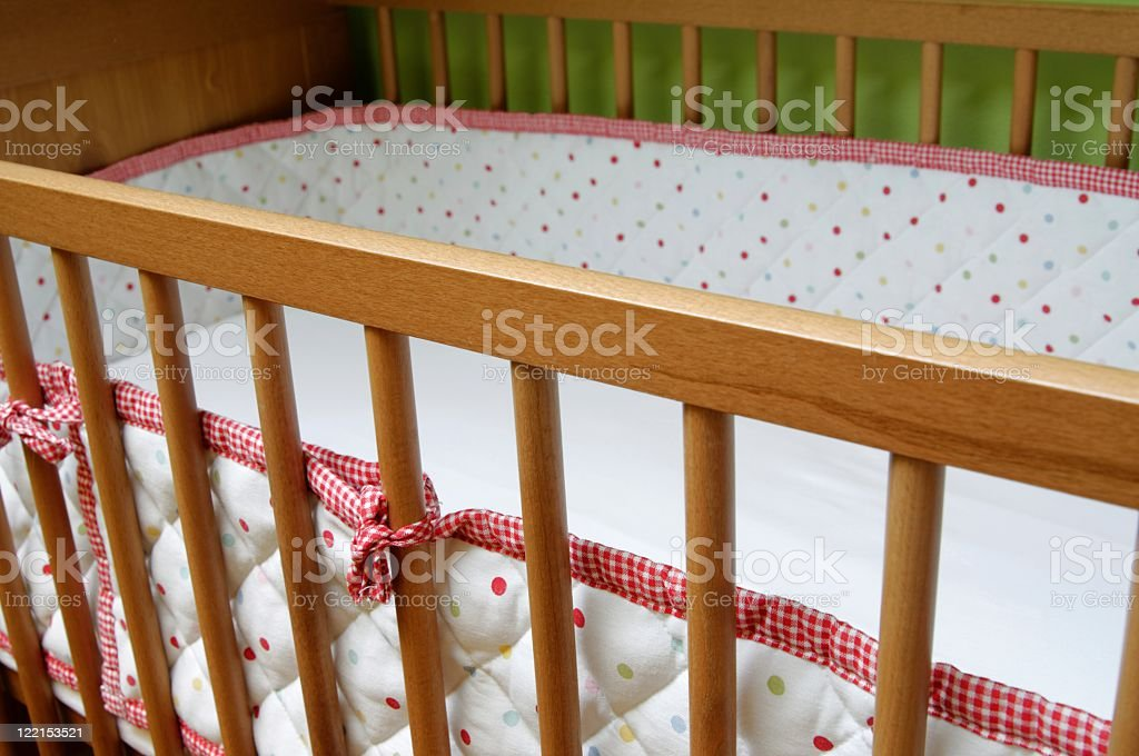 Crib view royalty-free stock photo