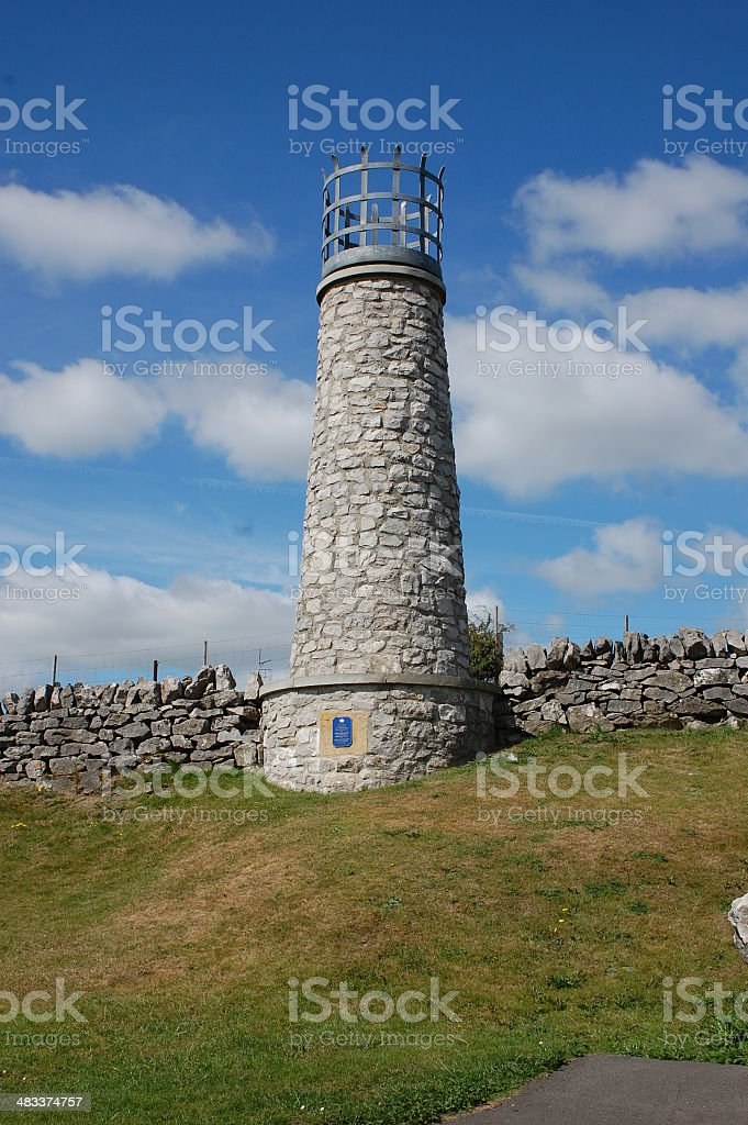 Crich Beacon, Crich, Derbyshire stock photo