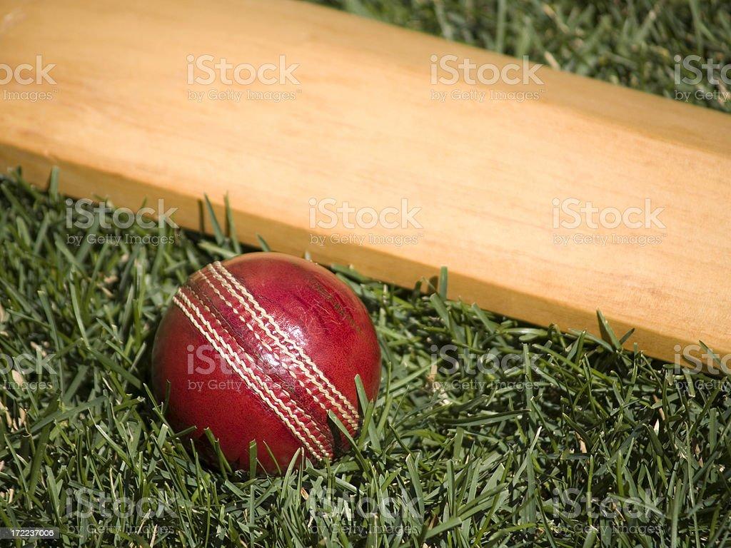 Cricket Ball royalty-free stock photo
