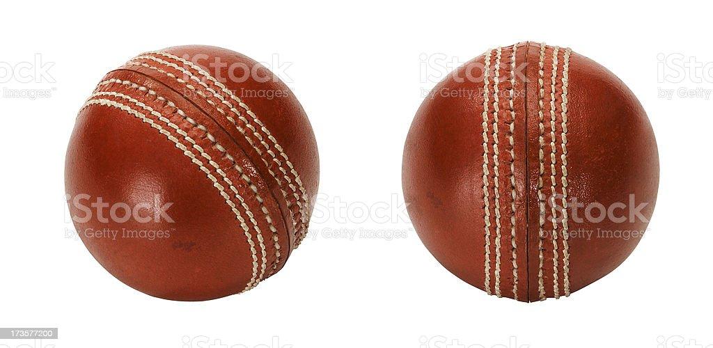 Cricket Balls stock photo