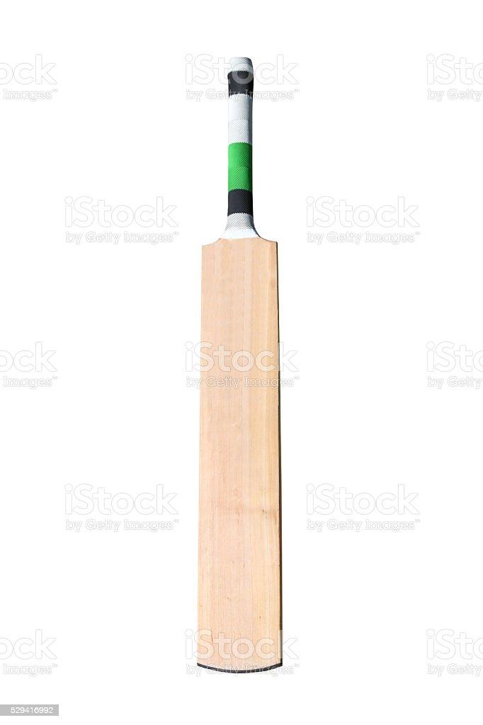 Cricket bat stock photo
