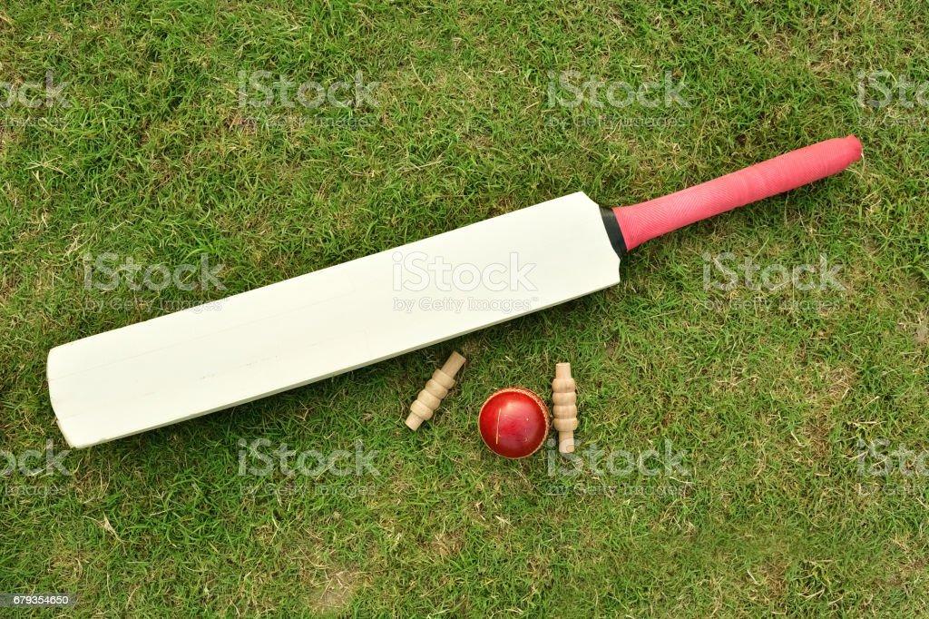 Cricket concept stock photo