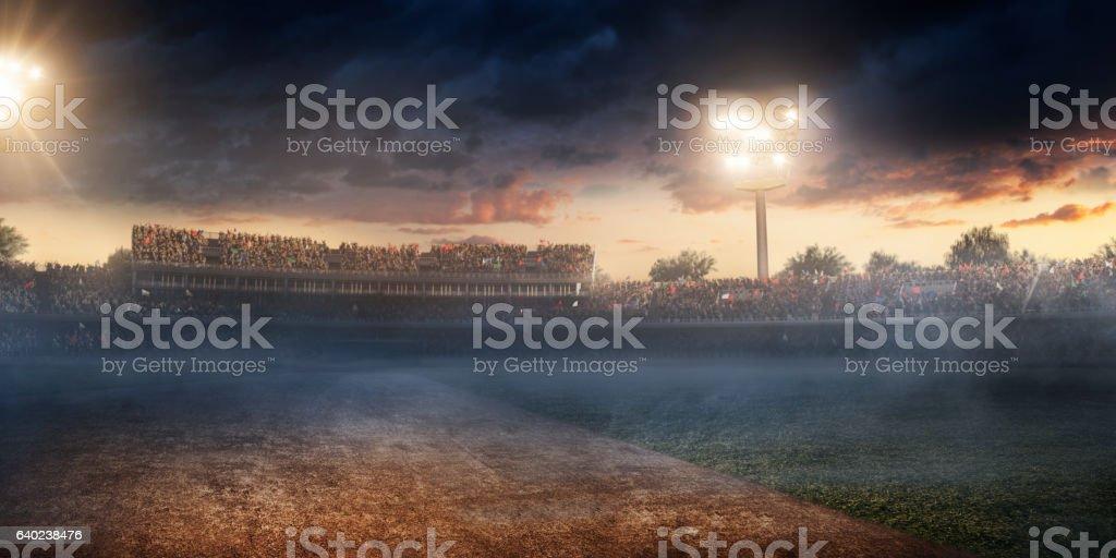 Cricket: Cricket stadium stock photo